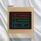 Hotel Doorbell System Outdoor Panel in Acrylic Outline Frame (SK-dB100S3A)