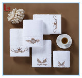 100% Cotton, Customized Embroidery Bath, Cotton Towels