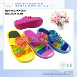 New Arrvial Flip Flop Women Slip with Strap and Flowers