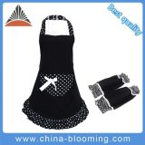 Ladies Chef Cooking Cotton Kitchen Arm with Over -Sleeves Apron