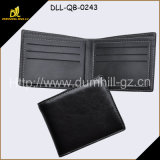 Grain Bla⪞ K Cowhide Leather Bifold Men Wallet
