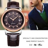 Luxury Mens Automatic Mechanical Watch with Genuine Leather Strap 72001