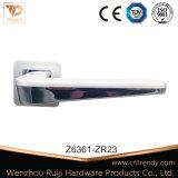Wenzhou Zinc Door Hardware Interior Wooden Door Lever Handle on Rose