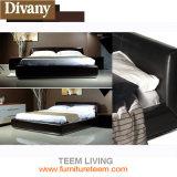 Divany Hot Sales Elegant Leather Bed