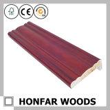 Red Wood Door Jamb or Decorative Trim for Door