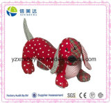 2016 Cheap Stuffed Toy Printed Fabric Dog Cloth Dachshund Dog