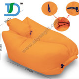 Inflatable Outdoor Beach Sleeping Lazy Bag with Customized Logo