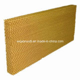 Yellow Color Evaporative Cooling Pad