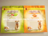 Pet Food Bag with Zipper and Hang Hole