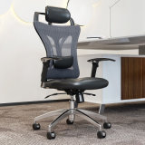 Office Furniture Ergonomic Computer Chair with PU Leather / Mesh Fabric