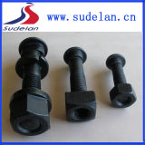 Railway Track Bolt/ Types of Fish Bolts with Nuts