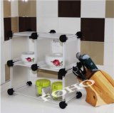 Kitchen Organizer Easy Store Bowls, Plates and Sauce Cup (FH-AL920)
