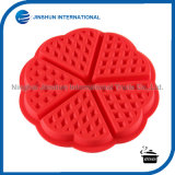 5 Cavity Heart Shaped Waffle Biscuit Mold