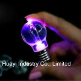 LED Light up Bulb Keychains