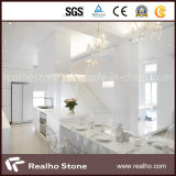 Customize Statuario White Marble Square Table Top Countertop