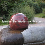Rolling Ball Water Fountains, Rotating Granite Stone for Garden Water Features