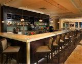 Cholete Wooden Cabinet Corian Countertop Restaurant Bar Counter