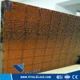 6.5mm Tinted Figured Glass/Wired Glasss/Patterned Glass/Rolled Glass with CE&ISO9001