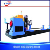 Steel Pipe Plasma CNC Cutting Machine for Truss Construction