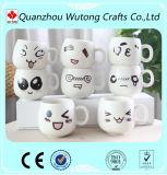 Custom Funny Emoticon Mug Ceramic Morcelain Material