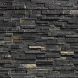 Black Stone Wall Tile Cladding/Panel