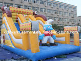 2017 Newest Inflatables Bouncy Slides Toys for Amusement Park