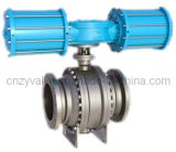 Hydraulic Ball Valve with Flange Trunnion Ball Valve
