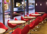 Restaurant Round Corian Dining Table/Cafe Table