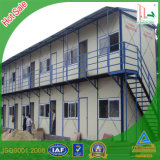 Steel Flat Two Story K Type Prefabricated House for Construction Worker