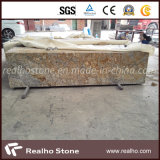 African Bordeaux Exotic Granite Prefab and Countertops for Kitchen