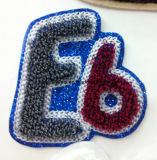 Embroidery Letters in Chenille
