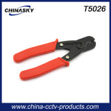 Strong Handle Coax Wire Plier Cutter for Coaxial Wire Cable (T5206)