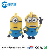 New Arrival! Minion Cartoon USB Flash Memory Disk Drive with Different Design (KTS010124)