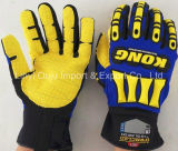 TPR Impact Gloves Mechanic Safety Glove with Ce