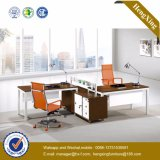 Walnut Office Furniture Modern Cluster Office Desk (HX-UN049)