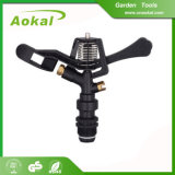 "2017 Hot Sale 3/4"" Male Irrigation Farming Plastic Impulse Sprinkler"