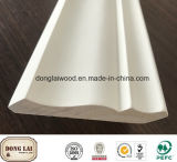 Fashion Design Wood Crown Ceiling Moulding Glue or Nail