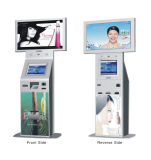 Free Stand Touch Screen Advertisement Cell Phone Charging Kiosk