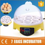 Mini 7 Eggs Automatice Egg Incubator for Hatching Eggs (YZ9-7)