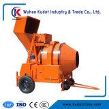 4 Wheels Mobile Cement Mixer Rdcm350