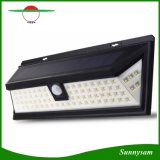 Super Bright 80 LED Motion Sensor Light Outdoor Wide Angle Reach with 5 LED on Both Sides Solar Powered Security Light