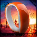 Vogue Silicone Bracelet LED Wristwatch Brand Watch (DC-1131)