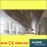 Aluminum Metal Suspended Mixed Sizes U Baffle Ceiling