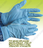 Sterile Powdered PVC Examination Gloves for Sale