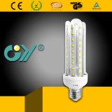 9W 3u 4000k Glass LED U Shape