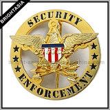 Custom Hard Enamel Metal Police Badge (BYH-10037)