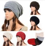 Unisex Winter Baggy Beanie Knit Crochet Ski Hat