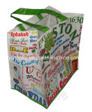 PP Woven Tote Bag with Printing for Promotion