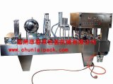 Plastic Cup Filling Pre-Cut Foil Sealing Machine