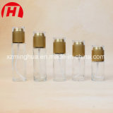 20ml Clear Glass Pump Lotion Bottle